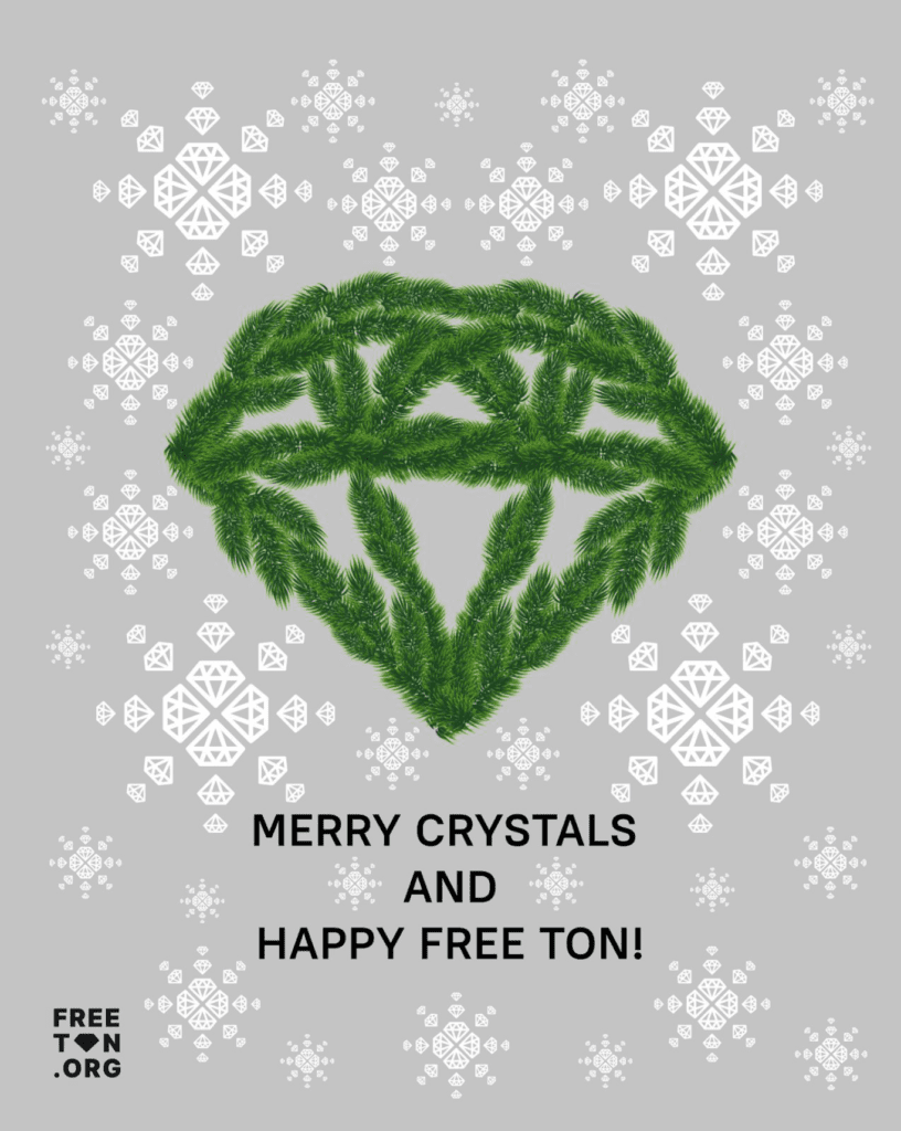 Free TON Crystals from Spruce Paws